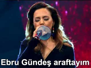 Ebru Gündeş araftayım video klibi izle yeni albüm şarkıları dinle