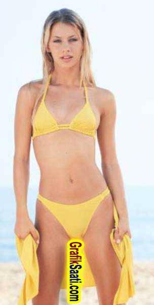 Tuğba Ünsalın Bikinili Fotoğrafları