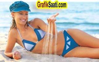 Tuğba Ünsal bikinili pozları