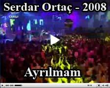 Serdar Ortaç Şarkıları Ayrılmam Klip